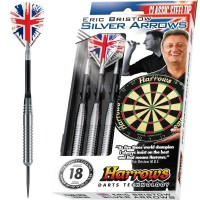 Harrows Eric Bristow Silver Arrows R Brass - Steel Tip