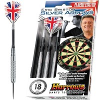 Harrows Eric Bristow Silver Arrows K - Brass - Steel Tip