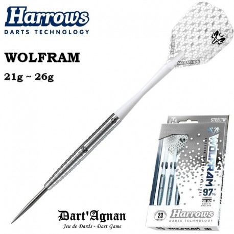 Harrows Wolfram 97% - Steel Tip