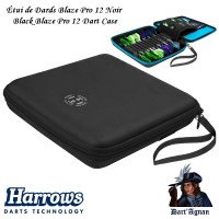 Harrows - Blaze Pro 12 Black Dart Case