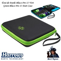Harrows - Blaze Pro 12 Green Dart Case
