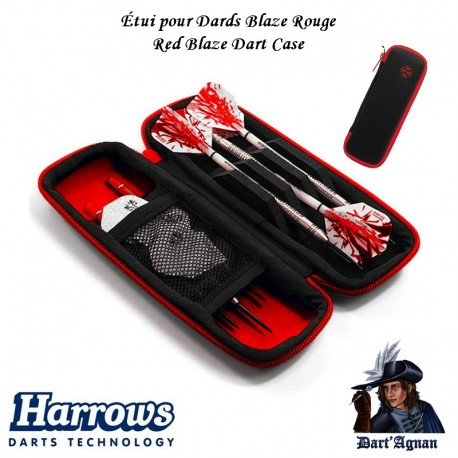 Harrows - Dart Case - Blaze Red
