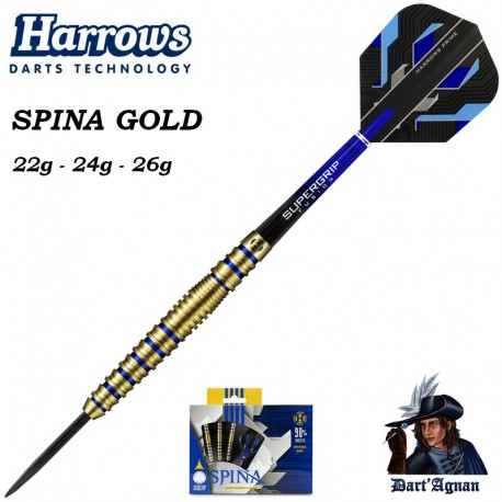 Harrows Spina Gold 90% - Pointe d'Acier