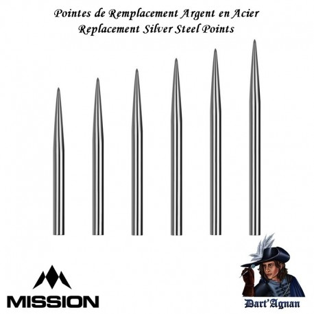 Mission - Plain Silver Points
