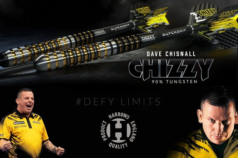 """Fléchettes Dave """"Chizzy"""" Chisnall"""